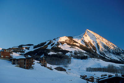 The Crested Butte Print by Jerry McElroy