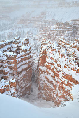 Photograph - The Crevasse II by Ray Mathis