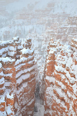 Photograph - The Crevasse IIi by Ray Mathis