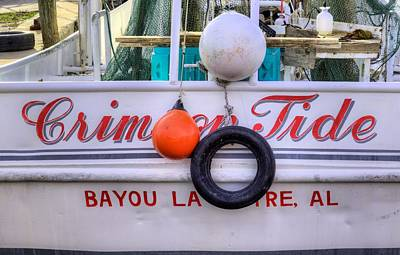 Photograph - The Crimson Tide Shrimp Boat by JC Findley