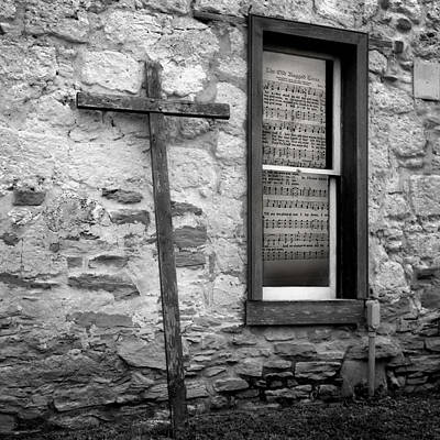 Photograph - The Cross And The Hymn by David and Carol Kelly