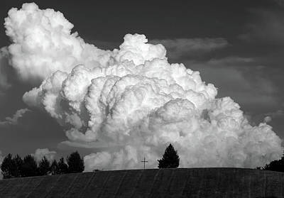 Photograph - The Cross Beneath The Cloud by Bill Jordan