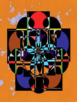 Digital Art - The Cross by Cathy Harper