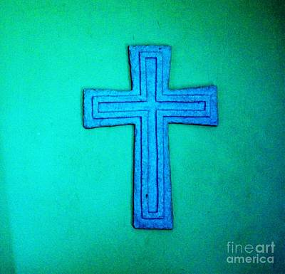 Religeous Photograph - The Cross He Died On For Me by Marsha Heiken