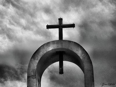 Katharine Hepburn - The Cross II by Gina Welch