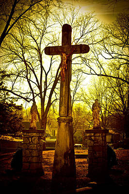 Photograph - The Cross by Kristy Creighton