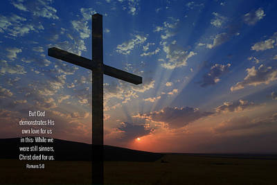Photograph - The Cross by Lynn Hopwood