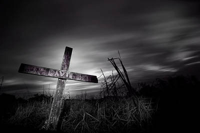 Photograph - The Cross by Mark Andrew Thomas
