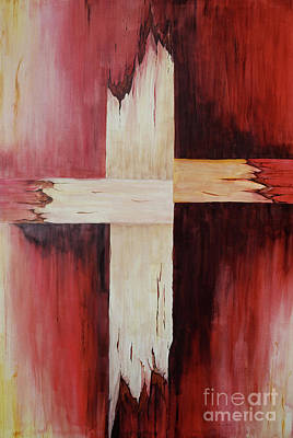 Painting - The Cross by Melanie Pruitt