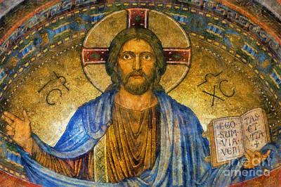 Jesus Christ Icon Digital Art - The Cross Of Christ by Ian Mitchell