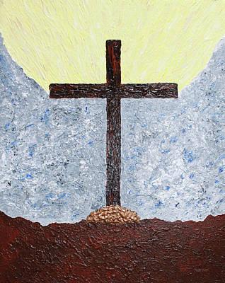 The  Cross  Of  Jesus Art Print by Carl Deaville