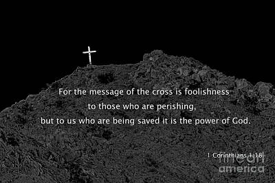 Photograph - The Cross by Robert Bales