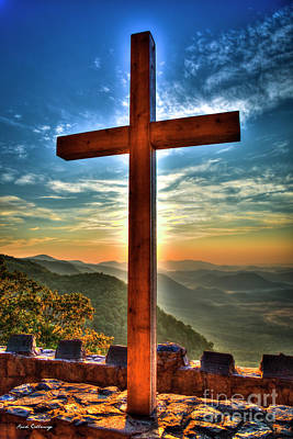 Photograph - The Cross The Choice 2 Pretty Place Chapel Greenville South Carolina Art by Reid Callaway