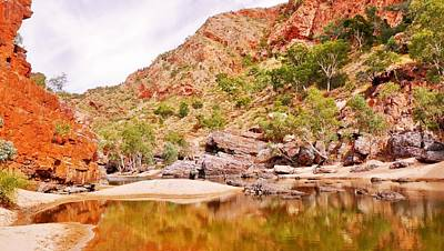 Photograph - The Crossing - Ormiston Gorge by Lexa Harpell