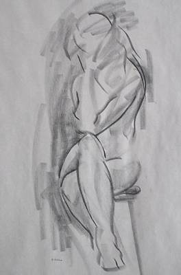 Drawing - The Crossing by Robert Holden