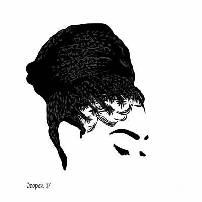 Hair Bun Digital Art - The Crown You Will Always Wear by April Cooper