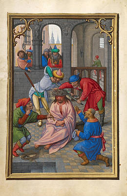Catholic For Sale Painting - The Crowning With Thorns by Simon Bening