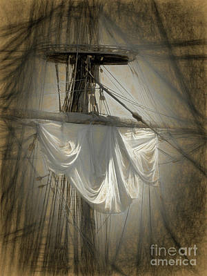 Photograph - The Crows Nest - Abstract By Scott Cameron by Scott Cameron