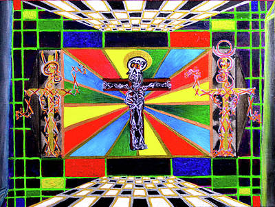 The Crucifffictiooon - Paradisi Gloooria Art Print