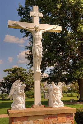The Followers Photograph - The Crucifixion by Paul Lindner