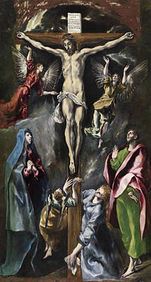 Lord Painting - The Crucifixion by El Greco