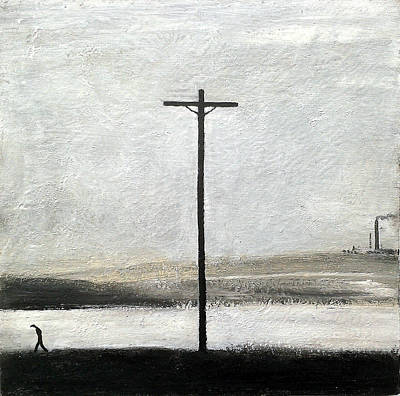 Factory Painting - The Crucifixion by Walker Scott British Industrial Northern Art