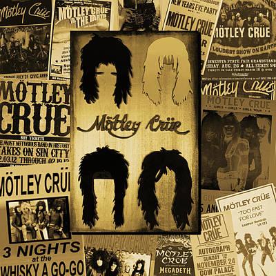 Motley Crue Art Print