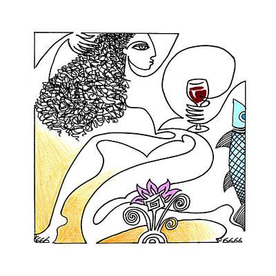 The Crush Art Print by Roy Guzman