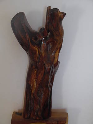 Sculpture - The Cry Of Angels by Esther Newman-Cohen