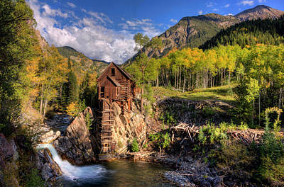 Crystal Mill Photograph - The Crystal Mill And The Crystal River by Ken Smith