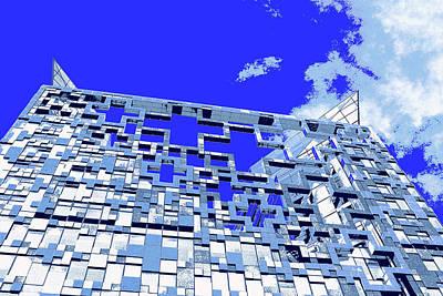 Digital Art - The Cube by Mary Castellan