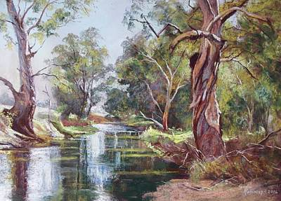 Painting - The Cudgegong by Lynda Robinson