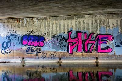 Message Art Photograph - The Cult Of The Shrooms by Steve Harrington