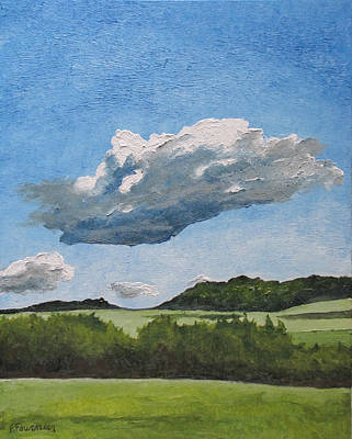 Eastern Townships Painting - The Cumulus  by Francois Fournier