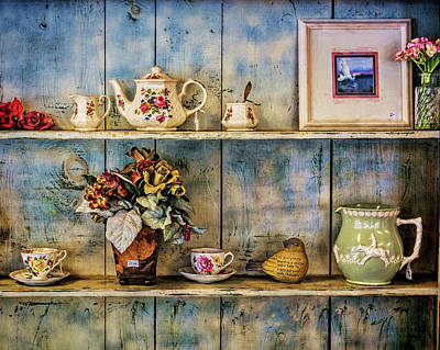 Photograph - The Cupboard by Lewis Mann