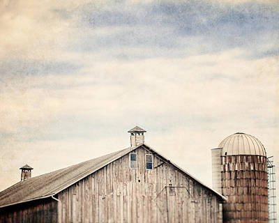 Country Chic Photograph - The Cupolas by Lisa Russo
