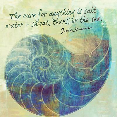 The Cure For Anything Isak Dinesen V2 Art Print