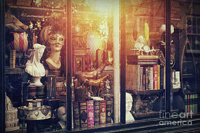 Antiquated Photograph - The Curiosity Shop by Tim Gainey