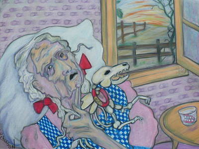 Painting - the curious case of Dorothy Gale by Todd  Peterson