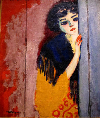 Van Dongen Painting - The Curious Gipsy by Kees van Dongen