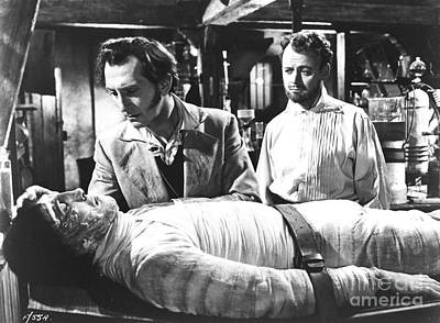 The Curse Of Frankenstein 1957 Baron Victor Frankenstein Art Print
