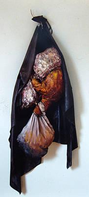 The Curtain Art Print by Nancy Mueller