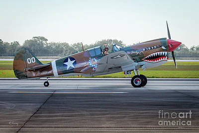 Photograph - The Curtiss P-40 Warhawk by Rene Triay Photography