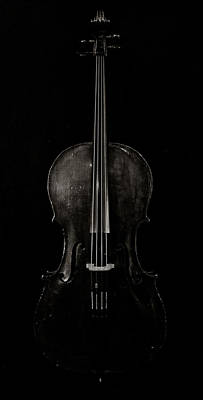 Cellists Photograph - The Curve Of Her - Two by Sam Hymas