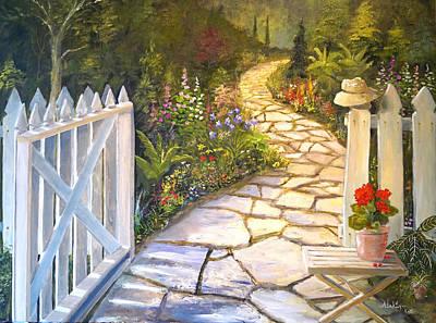 The Cutting Garden Art Print
