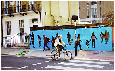 Photograph - The Cyclist  by Stewart Marsden