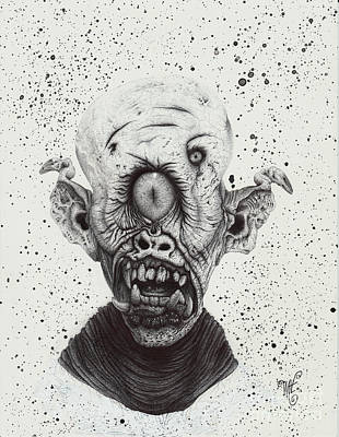 The Cyclops Print by Wave Art