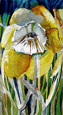 Daffodils Painting - The Daffodil by Mindy Newman