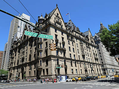 Photograph - The Dakota Apartments- One West 72nd Street At Cpw Built 1884 by Steven Spak