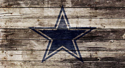 The Dallas Cowboys 2w Print by Brian Reaves